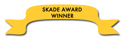 "SKADE Award Winner banner for Eddy Ancinas' book, ""Squaw Valley and Alpine Meadows: Tales From Two Valleys"""