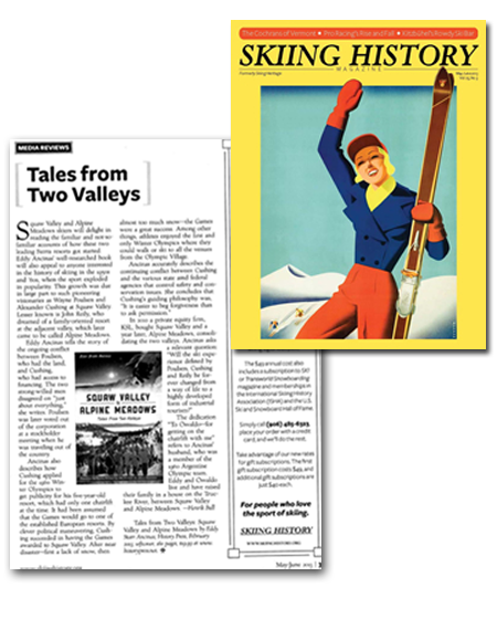 Review of Tales From Two Valleys in Skiing History, May-June 2013
